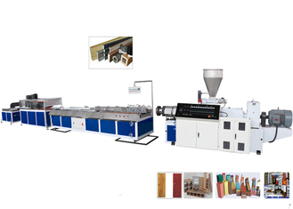 TPU / TPR / TPE PVC Plastic Profile Making Machine For Ceiling and Decking